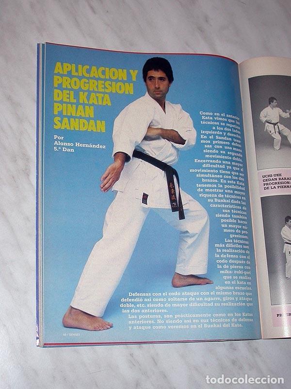 Coleccionismo deportivo: SENSEI Nº 4. REVISTA DE ARTES MARCIALES. MAYO 1988. HISTORIA DE BRUCE LEE. PÓSTER FRED ROYERS. +++++ - Foto 6 - 84587020