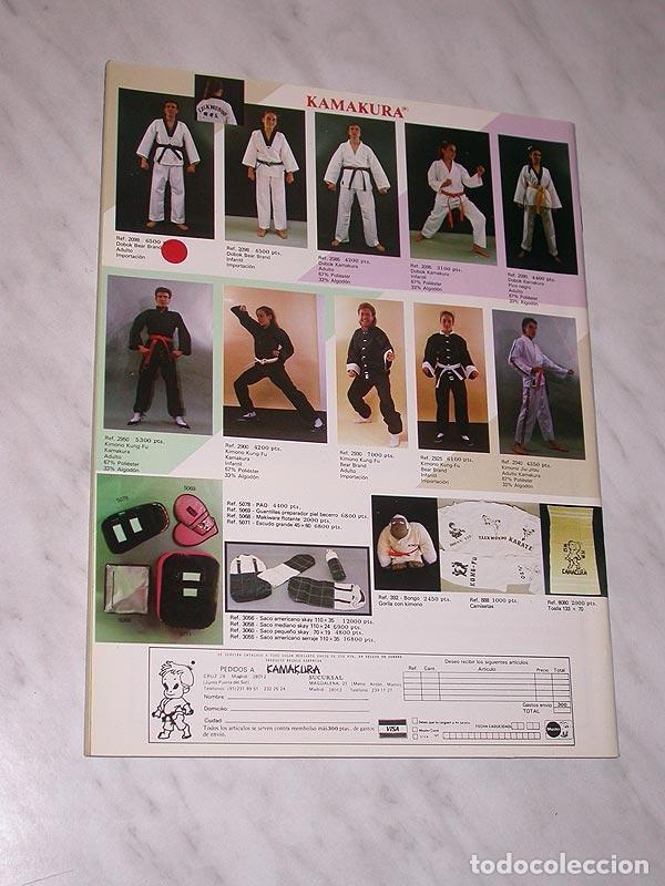 Coleccionismo deportivo: SENSEI Nº 4. REVISTA DE ARTES MARCIALES. MAYO 1988. HISTORIA DE BRUCE LEE. PÓSTER FRED ROYERS. +++++ - Foto 7 - 84587020