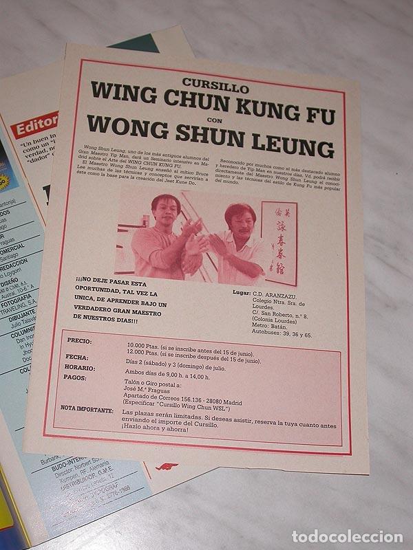 Coleccionismo deportivo: SENSEI Nº 5. REVISTA DE ARTES MARCIALES. JUNIO 1988. ANUNCIO WONG SHUN LEUNG. PÓSTER JUDO. NINJUTSU. - Foto 2 - 84587652