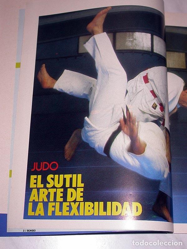 Coleccionismo deportivo: SENSEI Nº 5. REVISTA DE ARTES MARCIALES. JUNIO 1988. ANUNCIO WONG SHUN LEUNG. PÓSTER JUDO. NINJUTSU. - Foto 4 - 84587652
