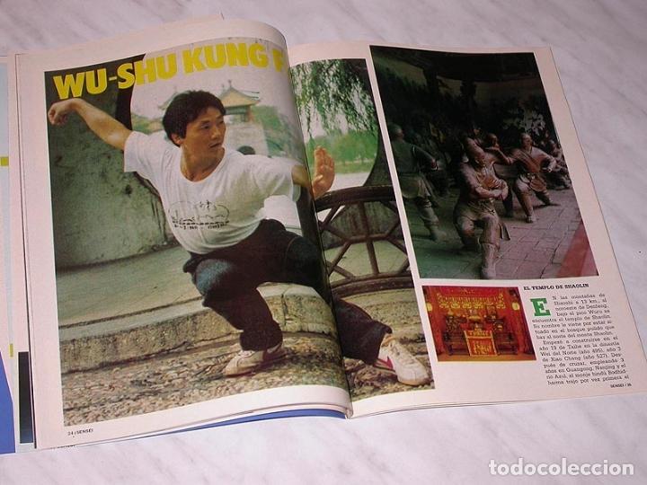 Coleccionismo deportivo: SENSEI Nº 5. REVISTA DE ARTES MARCIALES. JUNIO 1988. ANUNCIO WONG SHUN LEUNG. PÓSTER JUDO. NINJUTSU. - Foto 5 - 84587652