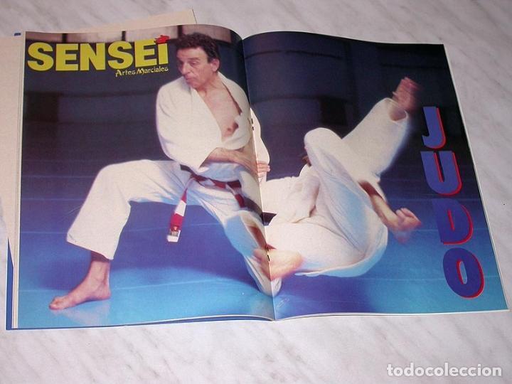 Coleccionismo deportivo: SENSEI Nº 5. REVISTA DE ARTES MARCIALES. JUNIO 1988. ANUNCIO WONG SHUN LEUNG. PÓSTER JUDO. NINJUTSU. - Foto 6 - 84587652