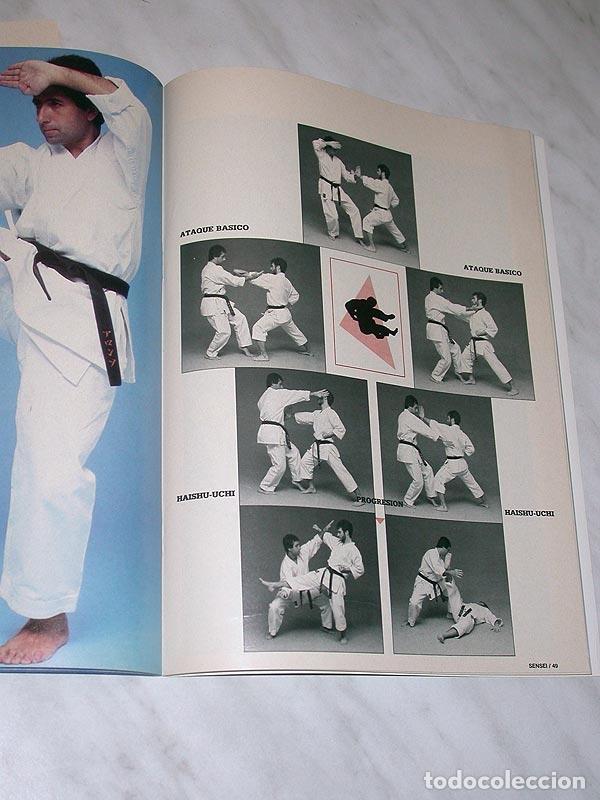 Coleccionismo deportivo: SENSEI Nº 5. REVISTA DE ARTES MARCIALES. JUNIO 1988. ANUNCIO WONG SHUN LEUNG. PÓSTER JUDO. NINJUTSU. - Foto 7 - 84587652
