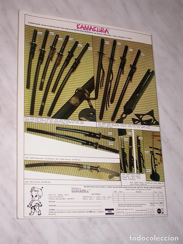 Coleccionismo deportivo: SENSEI Nº 5. REVISTA DE ARTES MARCIALES. JUNIO 1988. ANUNCIO WONG SHUN LEUNG. PÓSTER JUDO. NINJUTSU. - Foto 8 - 84587652