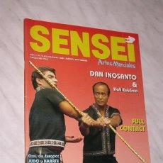 Coleccionismo deportivo: SENSEI Nº 6. REVISTA DE ARTES MARCIALES. JULIO AGOSTO 1988. PÓSTER KALI ESKRIMA. DAN INOSANTO. ++. Lote 84588044