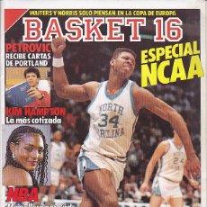 Coleccionismo deportivo: REVISTA BASKET 16 Nº 61. Lote 84911628