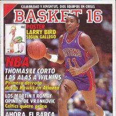 Coleccionismo deportivo: REVISTA BASKET 16 Nº 64. Lote 84911712