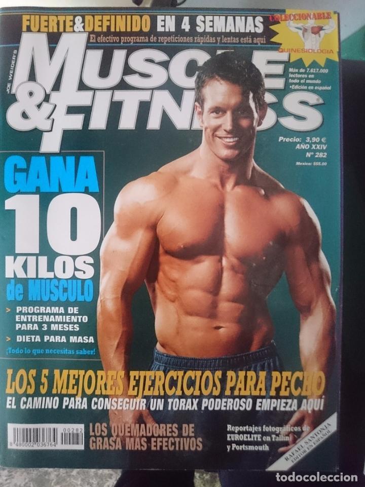 MUSCLE AND FITNESS - N 282 --REFM1E5DE (Coleccionismo Deportivo - Revistas y Periódicos - otros Deportes)