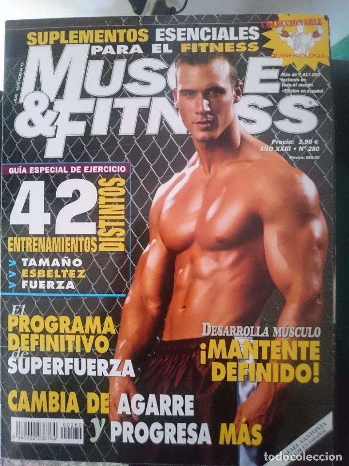 MUSCLE AND FITNESS - N 280 --REFM1E5DE (Coleccionismo Deportivo - Revistas y Periódicos - otros Deportes)