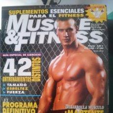 Coleccionismo deportivo: MUSCLE AND FITNESS - N 280 --REFM1E5DE. Lote 85855780