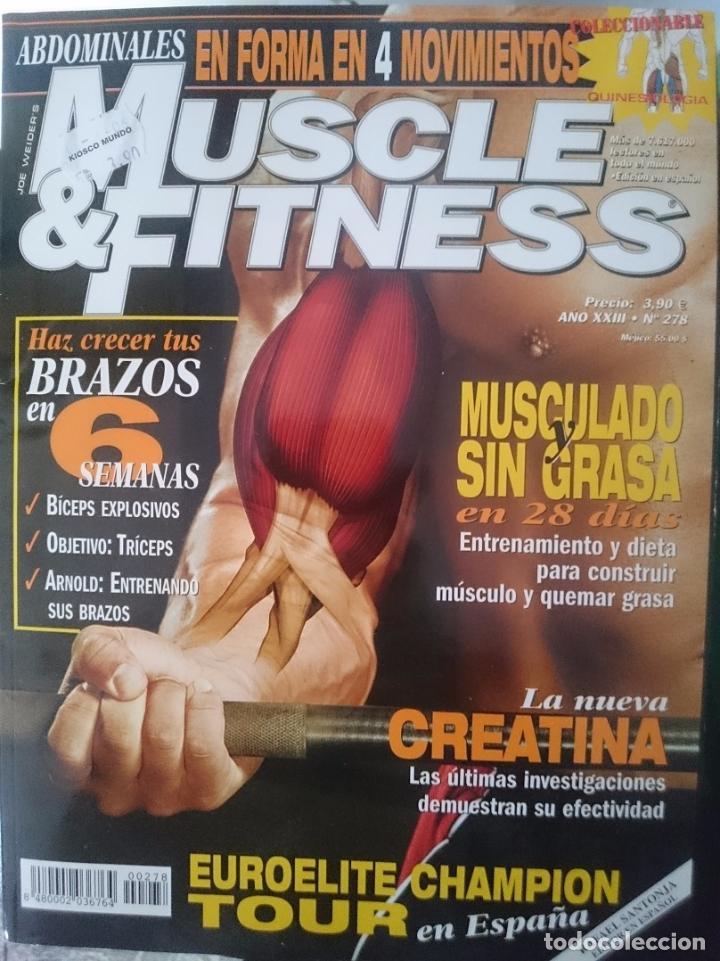 MUSCLE AND FITNESS - N 278 --REFM1E5DE (Coleccionismo Deportivo - Revistas y Periódicos - otros Deportes)