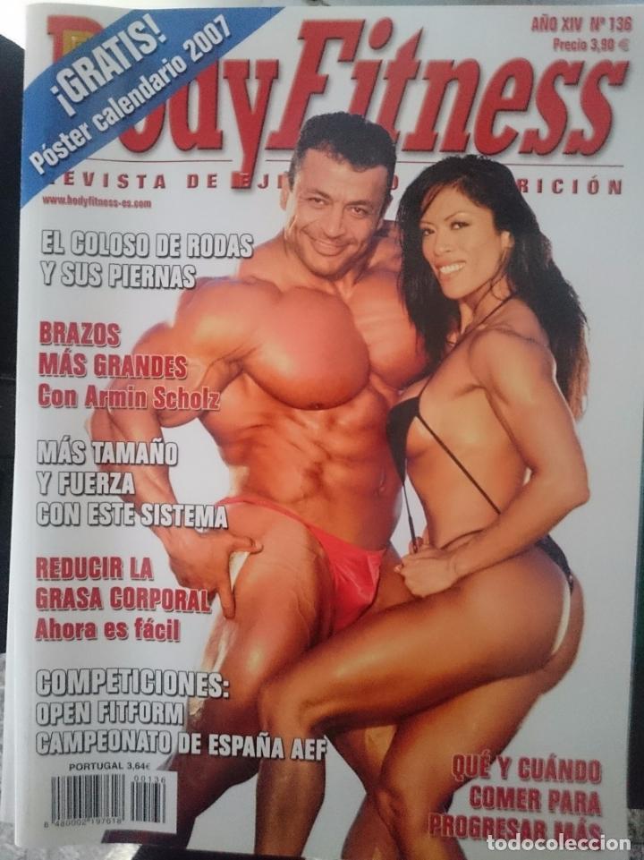 BODY FITNESS -- N 136 (Coleccionismo Deportivo - Revistas y Periódicos - otros Deportes)
