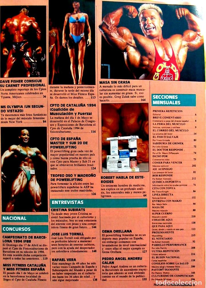 0d8fdfd5f28 Coleccionismo deportivo  MUSCLEMAG - EDICIÓN ESPAÑOLA Nº 55 AÑO VI - ED.  OLYMPUS SPORT