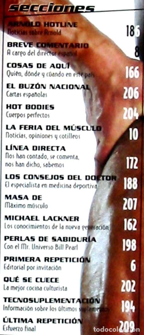 34f858aab9c Coleccionismo deportivo  MUSCLEMAG - EDICIÓN ESPAÑOLA Nº 202 AÑO XVIII -  ED. OLYMPUS SPORT