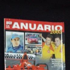 Coleccionismo deportivo: AUTO SPORT - ANUARIO 2003 - TDKR10. Lote 86688284