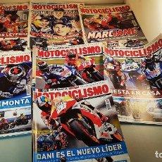 Coleccionismo deportivo: LOTE DE 7 REVISTAS DE MOTOCICLISMO DEL AÑO 2013. Lote 87035068