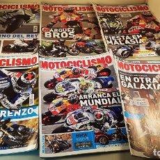 Coleccionismo deportivo: LOTE DE 11 REVISTAS DE MOTOCICLISMO DEL AÑO 2014. Lote 87035128