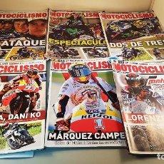 Coleccionismo deportivo: LOTE DE 6 REVISTAS DE MOTOCICLISMO DEL AÑO 2015. Lote 87035160