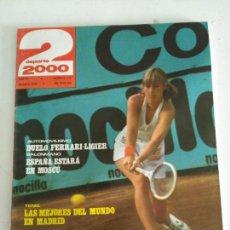 Coleccionismo deportivo: REVISTA DEPORTE 2000 N. 110 AGOSTO 1979. Lote 87319526