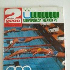 Coleccionismo deportivo: REVISTA DEPORTE 2000 N. 112 OCTUBRE 1979. Lote 87320180