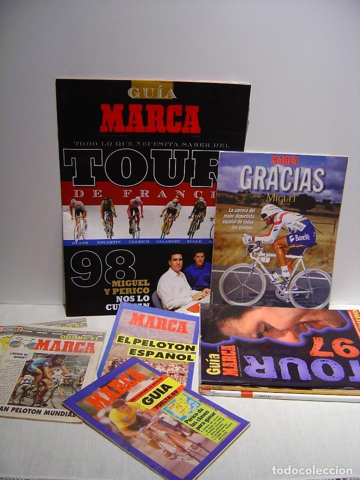 MARCA - LOTE REVISTAS CICLISMO (Coleccionismo Deportivo - Revistas y Periódicos - otros Deportes)