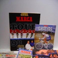 Coleccionismo deportivo: MARCA - LOTE REVISTAS CICLISMO. Lote 87473036
