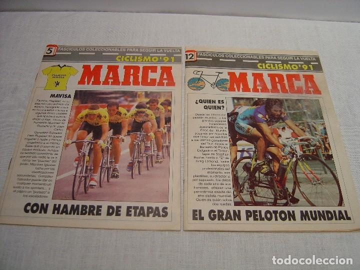 Coleccionismo deportivo: MARCA - LOTE REVISTAS CICLISMO - Foto 8 - 87473036