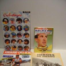 Coleccionismo deportivo: CICLISMO - LOTE PUBLICACIONES VARIADAS. Lote 87473048