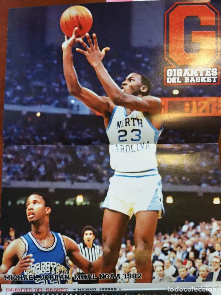 Coleccionismo deportivo: Revista nº 1410 Gigantes del Basket. Gigantes 1410. Incluye 8 posters Michael Jordan - Foto 2 - 88098336
