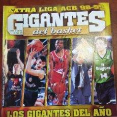 Coleccionismo deportivo: REVISTA Nº 709 GIGANTES DEL BASKET. GIGANTES 709. Lote 88293668