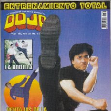Coleccionismo deportivo: REVISTA DOJO Nº 254. JACKIE CHAN . LA RODILLA. VENTAJAS DE LA ELASTICIDAD. . Lote 88966356
