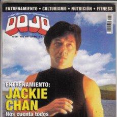 Coleccionismo deportivo: REVISTA DOJO Nº 281. JACKIE CHAN. JUAN DOMINGUEZ. LA PATADA LATERAL. . Lote 89345692