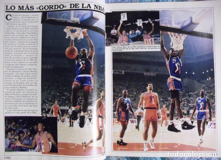 Coleccionismo deportivo: Michael Jordan & Magic Johnson - Revista Oficial NBA nº 1 - Primer anillo (1991) - Foto 4 - 174346622