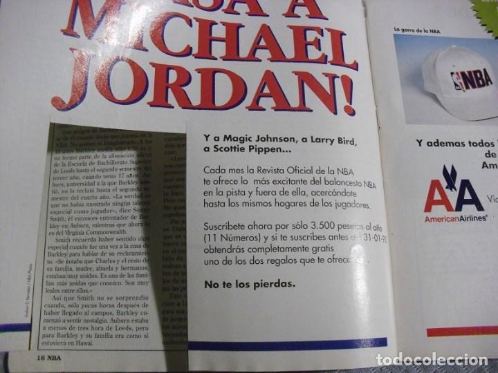 Coleccionismo deportivo: Michael Jordan & Magic Johnson - Revista Oficial NBA nº 1 - Primer anillo (1991) - Foto 6 - 174346622