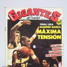 Coleccionismo deportivo: REVISTA DE BALONCESTO CON PÓSTER - GIGANTES DEL BASKET. NBA, CELTICS... - Nº 134, 1988 -HOBBY PRESS. Lote 91238315
