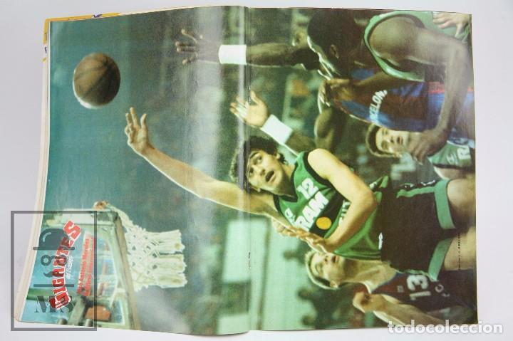 Coleccionismo deportivo: Revista de Baloncesto con Póster - Gigantes del Basket. NBA, Celtics... - Nº 134, 1988 -Hobby Press - Foto 3 - 91238315