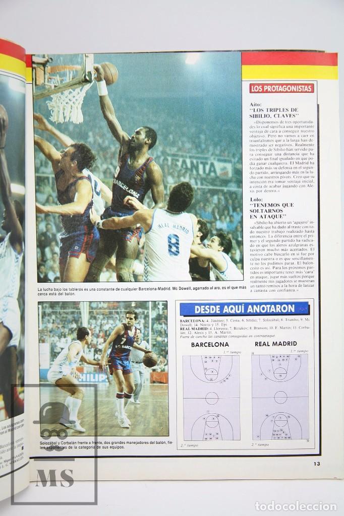 Coleccionismo deportivo: Revista de Baloncesto con Póster - Gigantes del Basket. NBA, Celtics... - Nº 134, 1988 -Hobby Press - Foto 4 - 91238315