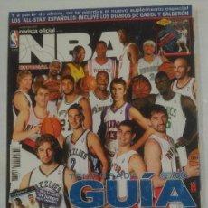 Coleccionismo deportivo: REVISTA OFICIAL NBA. NOVIEMBRE 2007. GUIA DE LA TEMPORADA 07/08. 2007 / 2008. TDKR38. Lote 91244770