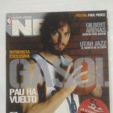Coleccionismo deportivo: REVISTA NBA OFICIAL. ENERO 2007. Nº 173. PAU GASOL HA VUELTO. BALONCESTO. TDKR38. Lote 91245715