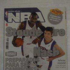 Coleccionismo deportivo: REVISTA NBA OFICIAL. ENERO 2008. Nº 185. DWIGHT HOWARD ALL STAR 2008. BALONCESTO. TDKR38. Lote 91247110