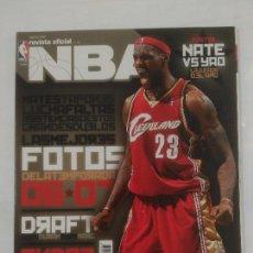 Coleccionismo deportivo: REVISTA NBA OFICIAL. AGOSTO 2007. Nº 180. FOTOS DE LA TEMPORADA. BALONCESTO. TDKR38. Lote 91247790