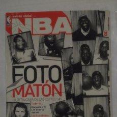Coleccionismo deportivo: REVISTA NBA OFICIAL. ABRIL 2007. Nº 176. FOTO MATON LA OTRA CARA DE LAS ESTRELLAS BALONCESTO. TDKR38. Lote 91247875