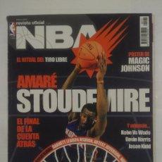 Coleccionismo deportivo: REVISTA NBA OFICIAL. FEBRERO 2007. Nº 174. AMARE STOUDEMIRE. BALONCESTO. TDKR38. Lote 91248050