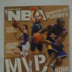 Coleccionismo deportivo: REVISTA NBA OFICIAL. MAYO 2007. Nº 177. MVP EMPIEZAN LAS APUESTAS. BALONCESTO. TDKR38. Lote 91248125