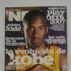 Coleccionismo deportivo: REVISTA NBA OFICIAL. JUNIO 2007. Nº 178. LA VOLUCION DE KOBE BRYANT. BALONCESTO. TDKR38. Lote 91248205