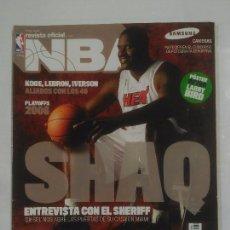 Coleccionismo deportivo: REVISTA NBA OFICIAL. MAYO 2006. Nº 165. SHAQ ENTREVISTA CON EL SHERIFF. BALONCESTO. TDKR38. Lote 91248385