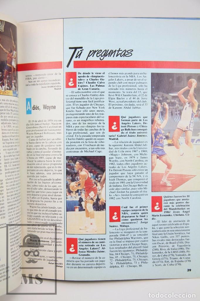 Coleccionismo deportivo: Revista de Baloncesto con Póster - Gigantes del Basket. Especial Seul - Nº 150, 1988 - Hobby Press - Foto 2 - 91250075