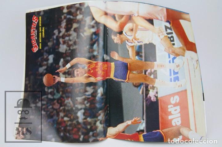 Coleccionismo deportivo: Revista de Baloncesto con Póster - Gigantes del Basket. Especial Seul - Nº 150, 1988 - Hobby Press - Foto 3 - 91250075