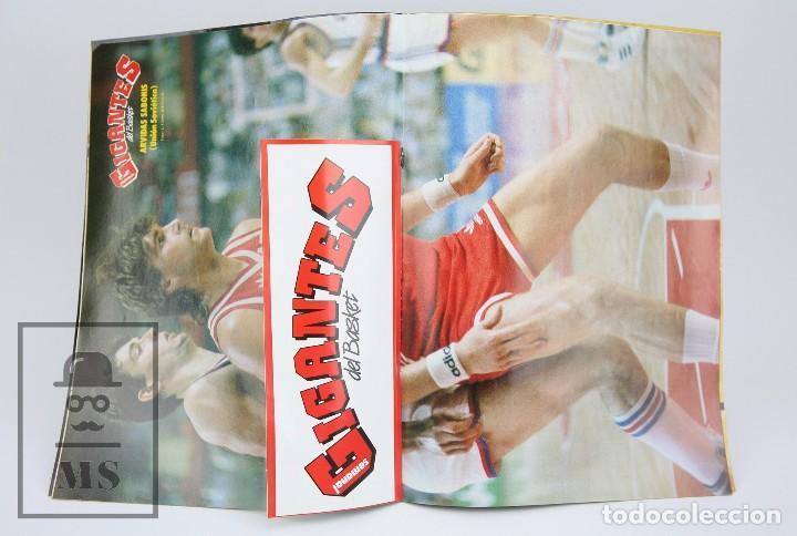 Coleccionismo deportivo: Revista de Baloncesto con Póster - Gigantes del Basket. Olimpiada Seul - Nº 151, 1988 - Hobby Press - Foto 3 - 91250180