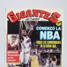 Coleccionismo deportivo: REVISTA BALONCESTO CON PÓSTER - GIGANTES DEL BASKET. NBA - Nº 210, 1989 - HOBBY PRESS. Lote 91254755